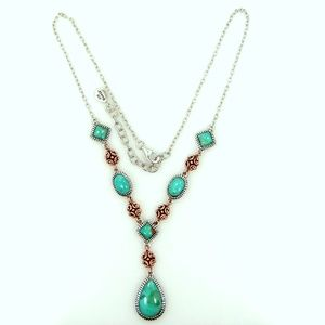 Studio Barse Sterling Silver Turquoise Necklace
